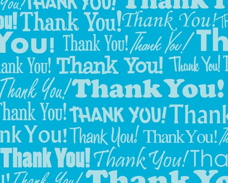 Thank You - Grouped collection of different Thank You text Stock Vector - 13026077