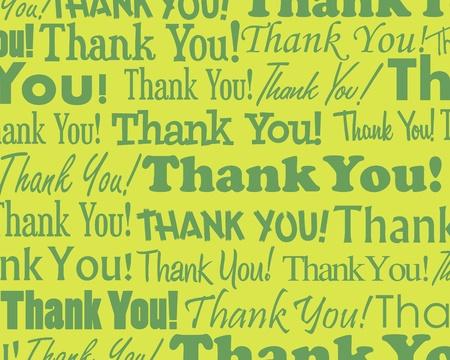 gratitudine: Grazie - la raccolta di diversi raggruppati Thank You testo Vettoriali