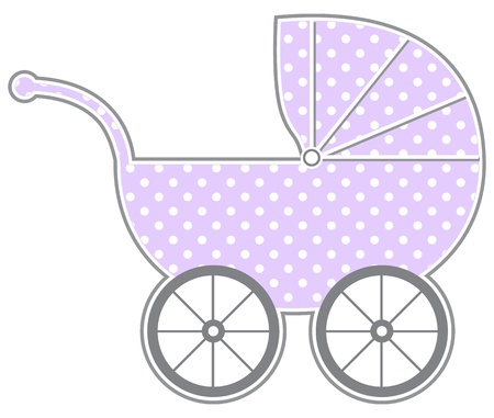 Baby Carriage Stock Vector - 13792215