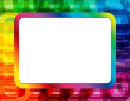 抽象的なスペクトル フレーム 写真素材 - 16040116
