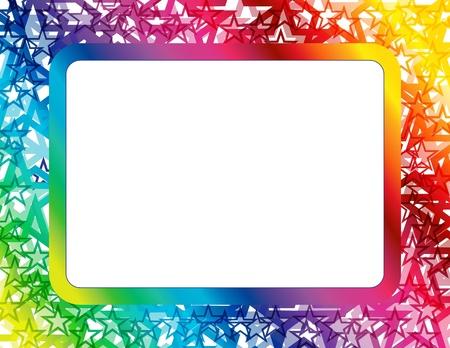 抽象的なスペクトラムのフレーム