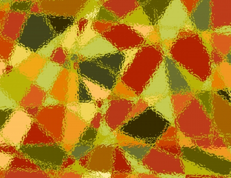 diagonals: Stained Glass Abstract Background