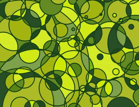 Stained Glass Circle Abstract Background Vector