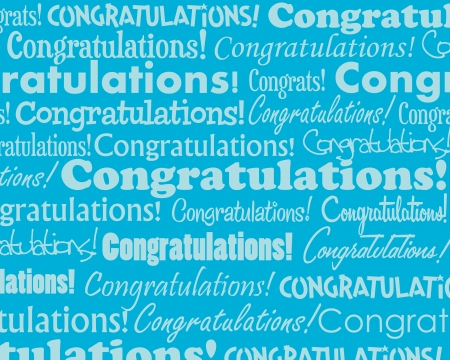 free clip art: Congratulations - Grouped collection of different Congratulations text