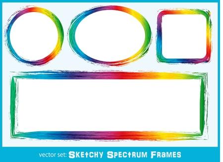 brilliant colors: Sketchy Spectrum Frames
