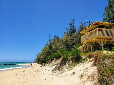 Beach Lifeguard Shack at Kanaha Beach - Maui