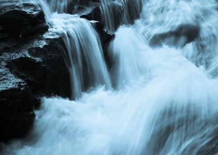 The Hoghton waterfalls
