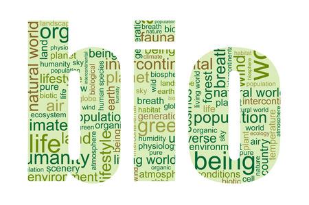 verbs: Bio - verbal graphic