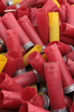 A photo of shotgun shells