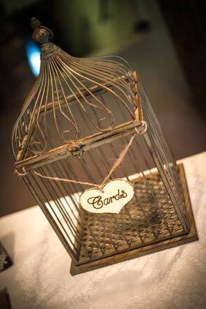 Bird Cage Basket Banco de Imagens