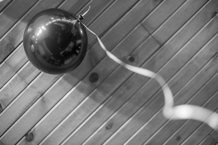 Black Balloon Stok Fotoğraf