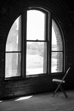 Alone Chair Reklamní fotografie - 36954656