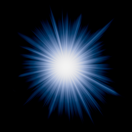 vector image of starburst photo