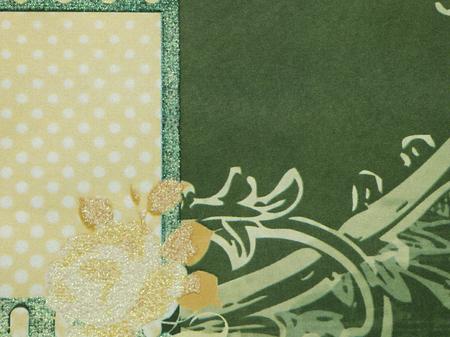 groen behang: