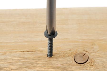 screw driver in screw