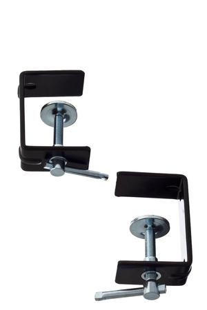 c clamp: black clamps