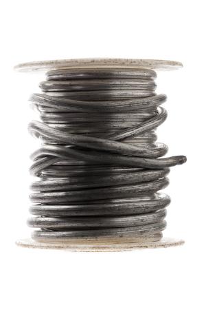 solder: coil of plumbers solder