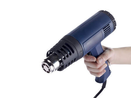 blowtorch: person holding a blowtorch