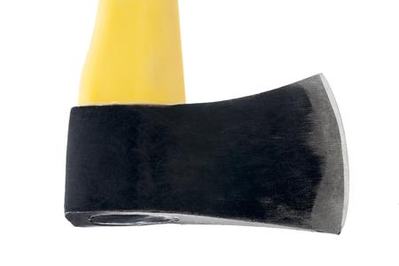 sharp yellow axe