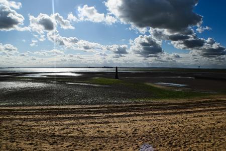 groynes: Seafront Low Tide
