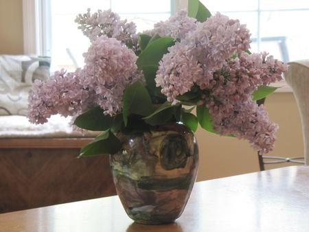 lavendar: Lilac Vase