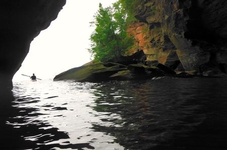 sea cave kayak
