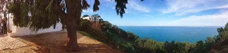 Seascape panorama Sidi Bou Said