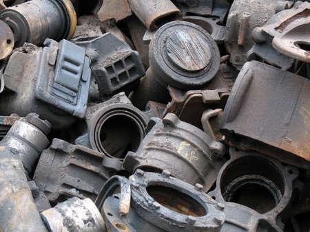 pleat: scrap metal