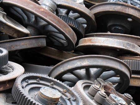 pleat: Steel wheels