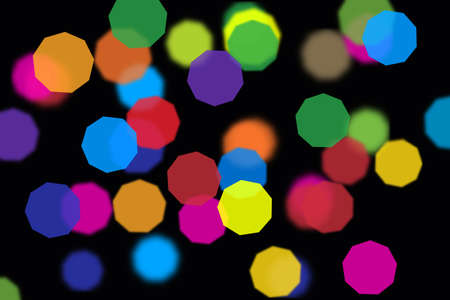 The image of abstract multi coloured sparks photo