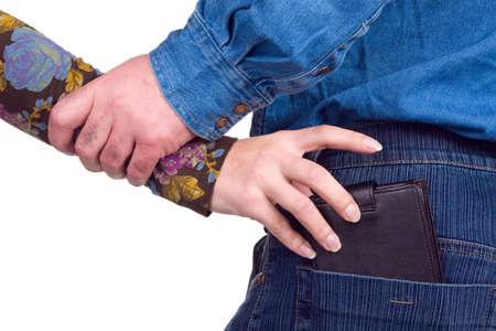 başarısız: Unsuccessful attempt of theft of a purse