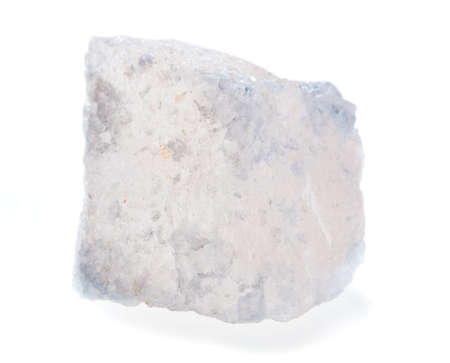 fluorite: Fluorite mineral isolated on a white background