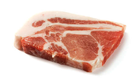 Frozen meat: One slice uncooked pork chops