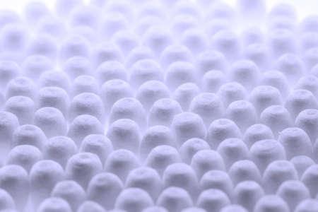 hygienics: Close up of Cotton Buds Stock Photo