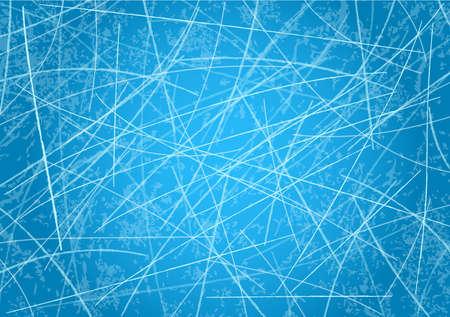 Ice surface of ice rink. Ice rink. Vector illustration Illusztráció