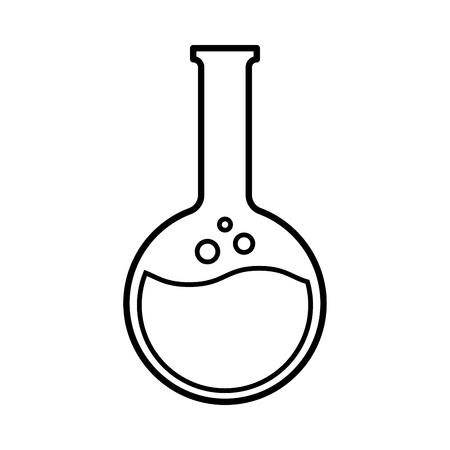Image d'un ballon à fond rond. Illustration vectorielle Vecteurs