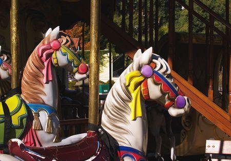 carrousel: horses of carrousel