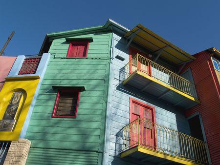 Caminito; La Boca, Buenos Aires Stock Photo