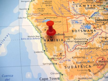 localities: Map of Africa
