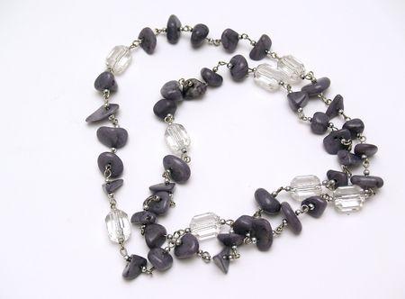 stone necklace      photo