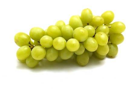 viticulture: green grapes