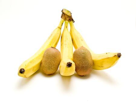 banana and kiwi photo