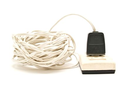 cable and electrical plug Stock Photo - 4795861