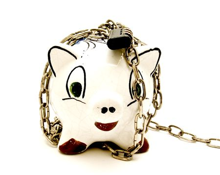 piggy chained photo