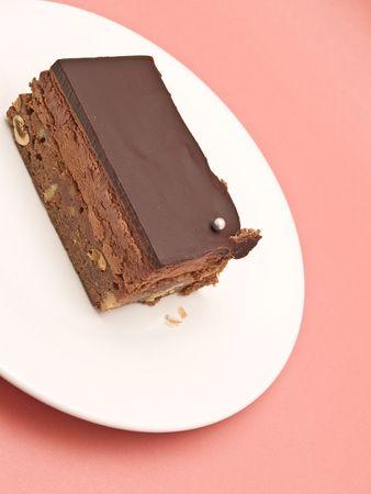 sugary:  chocolate dessert Stock Photo