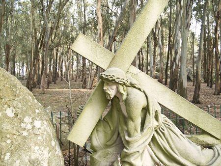 crucis: Via Crucis, City of Tandil, Argentina Stock Photo
