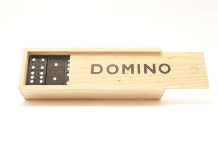 domino box game Stock Photo - 6480355