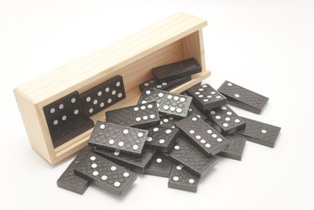 domino box game Stock Photo - 6480339