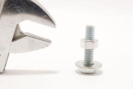 screw and tool Stock Photo - 6519445