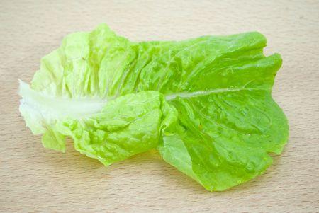 vibrat: lettuce leaf